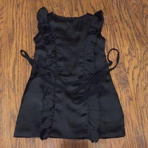 Joyfolie size 4 dress black euc